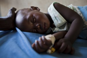 A Child Having Malaria Picture