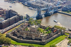 Tower of London Sky up View